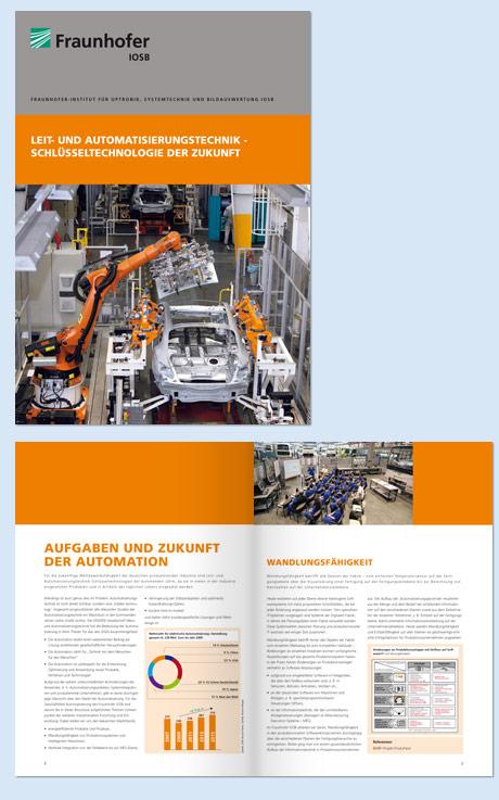Broschüre Fraunhofer IOSB