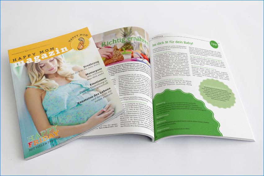 Happy Mom – das Magazin für die werdende Mutter
